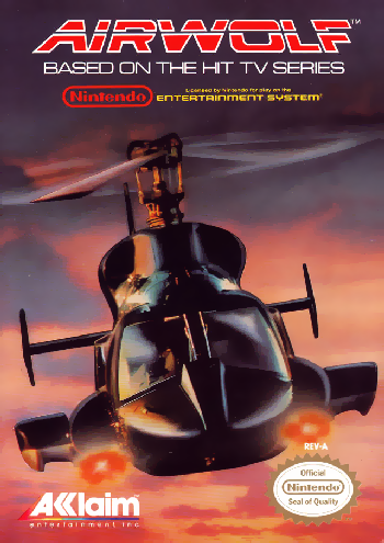 Airwolf (USA) cover