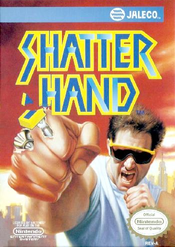 Shatterhand (USA) cover
