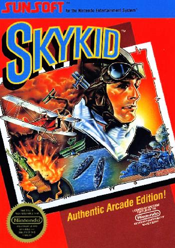 Sky Kid (USA) cover