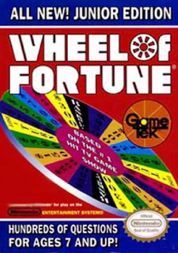 Wheel of Fortune - Junior Edition (USA) cover