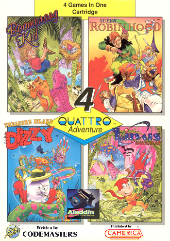 Quattro Adventure (USA) (Unl) cover