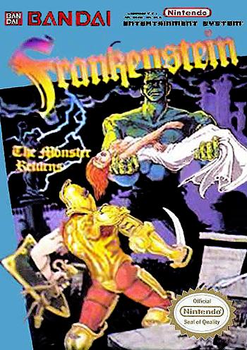 Frankenstein - The Monster Returns (USA) cover
