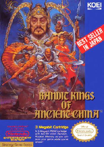 Bandit Kings of Ancient China (USA) cover