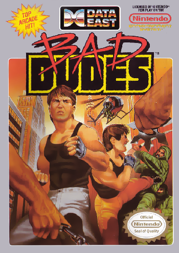 Bad Dudes (USA) cover