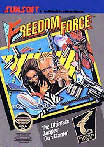 Freedom Force (USA) cover