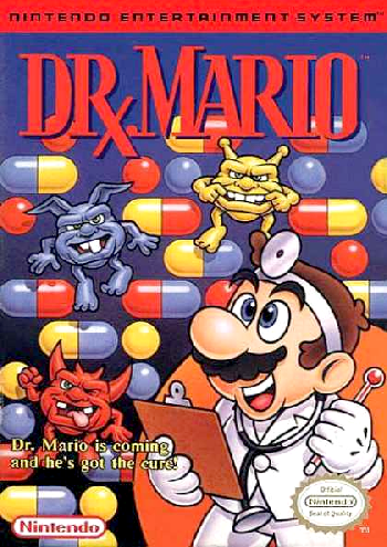 Dr. Mario (Japan, USA) (Rev A) cover