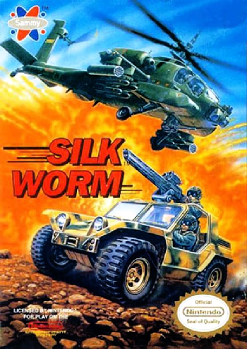 Silk Worm (USA) cover