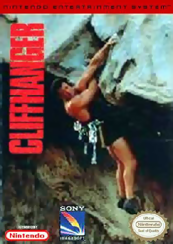 Cliffhanger (USA) cover