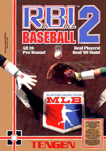R.B.I. Baseball 2 (USA) (Unl) cover