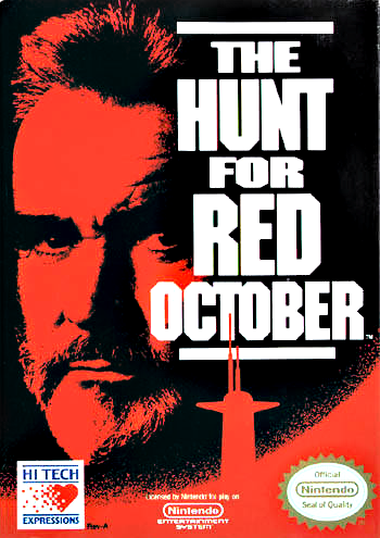 Hunt for Red October, The (USA) (Rev A) cover