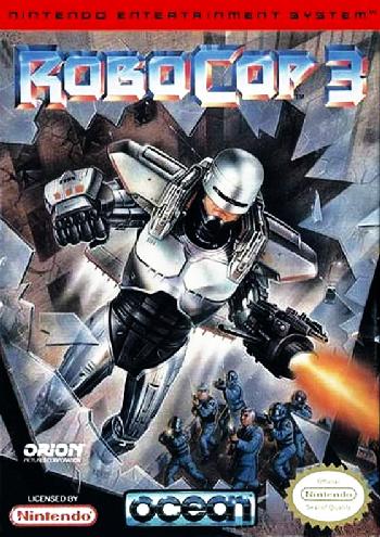 RoboCop 3 (USA) cover