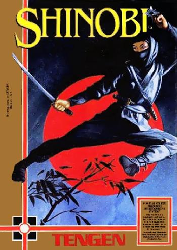 Shinobi (USA) (Unl) cover