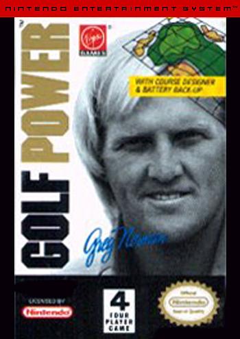 Greg Norman's Golf Power (USA) cover