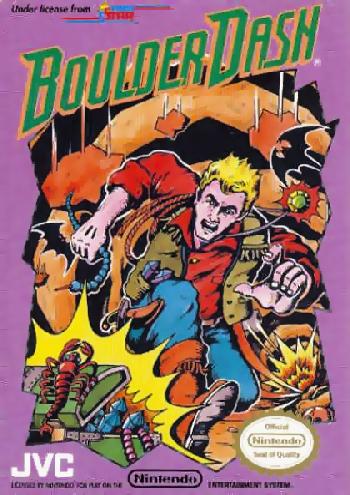 Boulder Dash (USA) cover