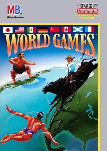 World Games (USA) cover