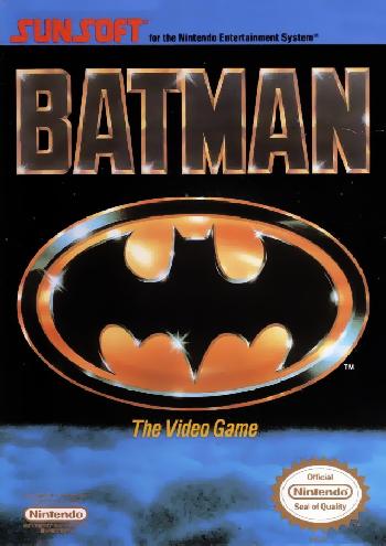 Batman - The Video Game (USA) cover