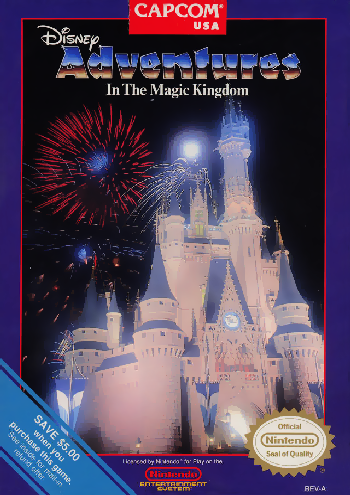 Adventures in the Magic Kingdom (USA) cover