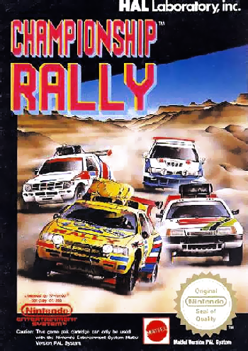 Championship Rally (Europe) cover