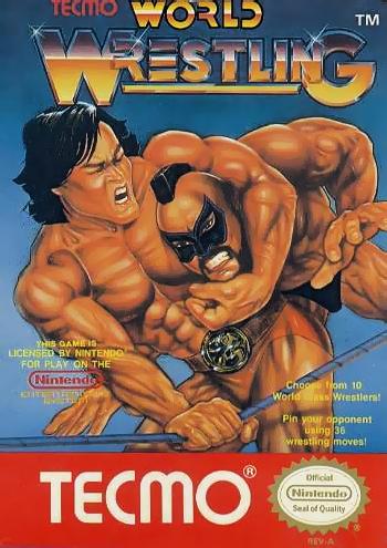 Tecmo World Wrestling (USA) cover