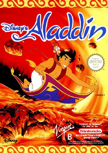 Aladdin (Europe) cover