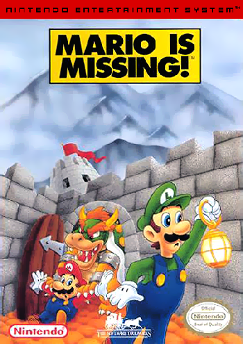 Mario is Missing! (USA) cover