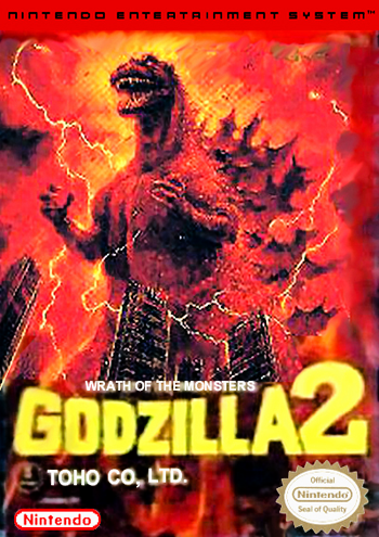Godzilla 2 - War of the Monsters (USA) cover