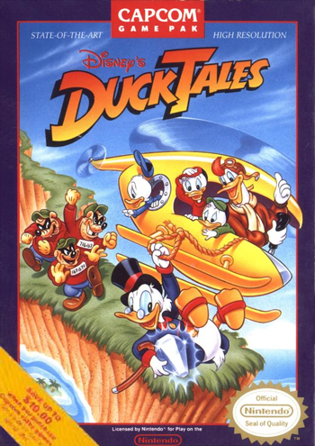 Duck Tales (USA) cover
