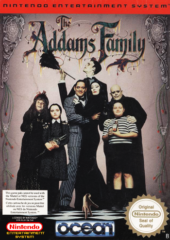 Addams Family, The (USA) cover