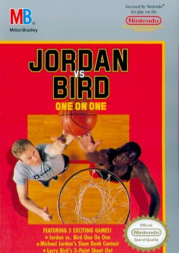 Jordan vs Bird - One On One (USA) cover