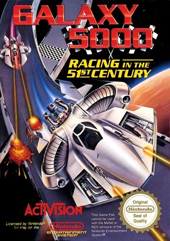 Galaxy 5000 (USA) cover