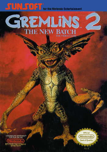 Gremlins 2 - The New Batch (USA) cover