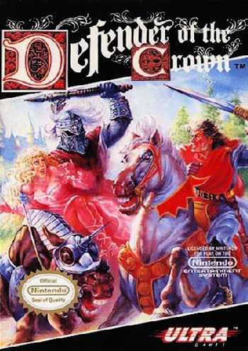 Defender of the Crown (USA) cover