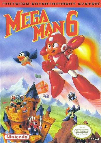 Mega Man 6 (USA) cover