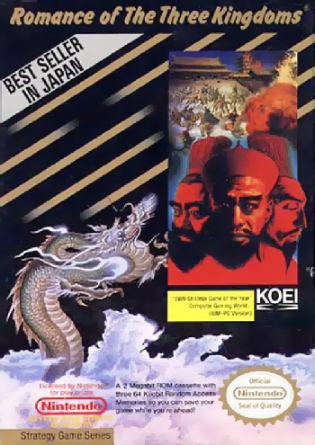 Romance of the Three Kingdoms (USA) cover