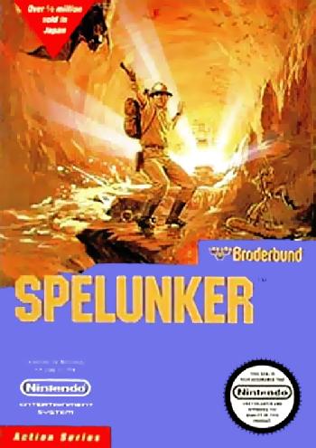 Spelunker (USA) cover