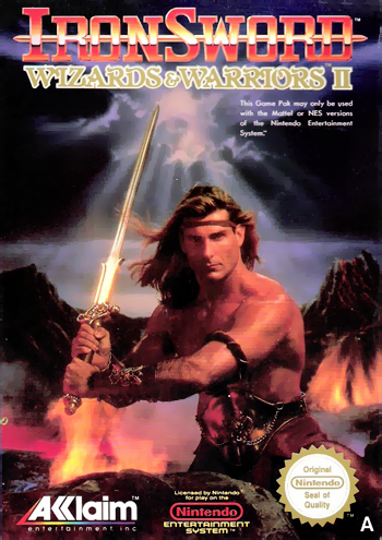 Ironsword - Wizards & Warriors II (USA) cover