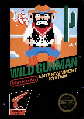 Wild Gunman (World) (Rev A) cover