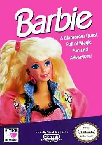 Barbie (USA) (Rev A) cover
