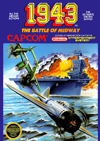 1943 - The Battle of Midway (USA) cover
