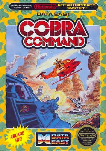 Cobra Command (USA) cover