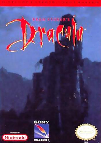 Bram Stoker's Dracula (USA) cover