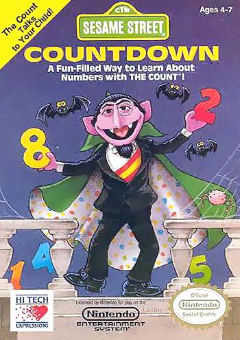 Sesame Street Countdown (USA) cover