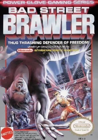 Bad Street Brawler (USA) cover