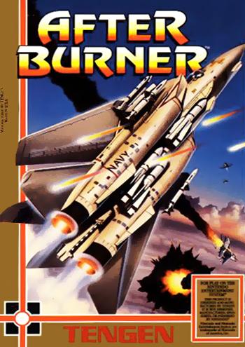 After Burner (USA) (Unl) cover