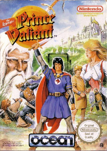 Legend of Prince Valiant, The (Europe) cover