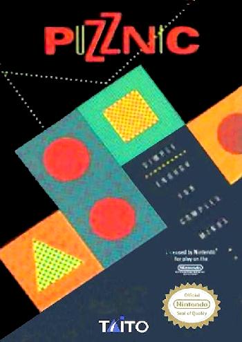 Puzznic (USA) cover