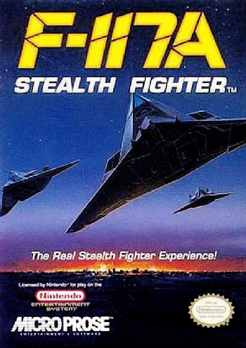 F-117A - Stealth Fighter (USA) cover