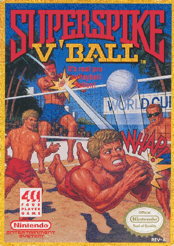 Super Spike V'Ball (USA) cover
