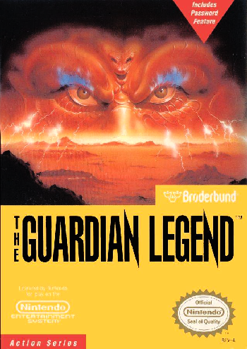 Guardian Legend, The (USA) cover