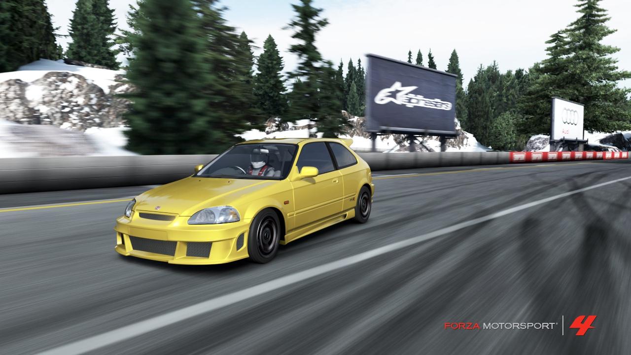 Forza 4 - Civic VTEC tuuuuurbo